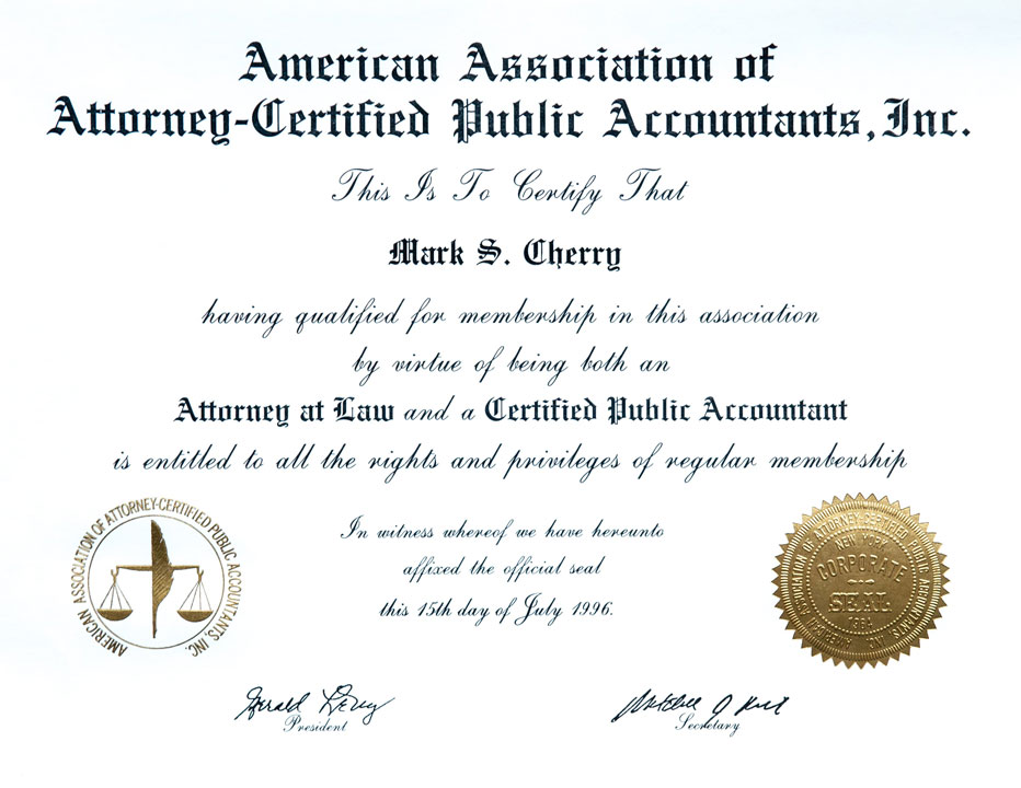 american assoc of attorney certified public accountants