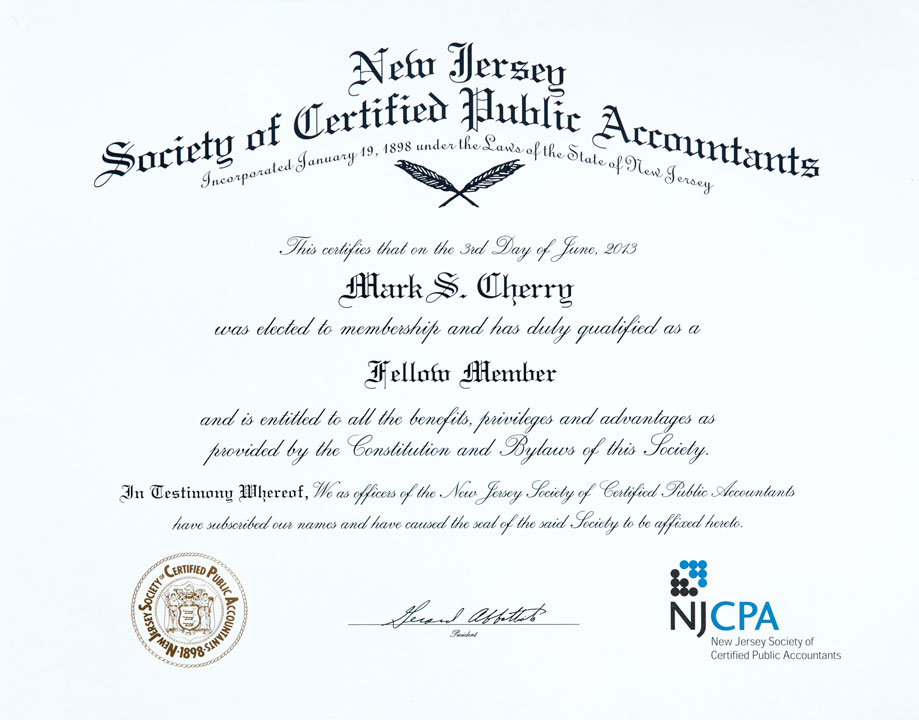New Jersey Society of Certified Public Accountants